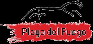 Playa del Fuego logo.